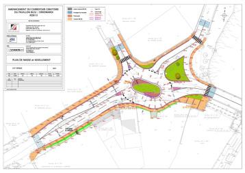 Création de giratoires sur RD - Ville de Saint Jean de Luz et Bidart