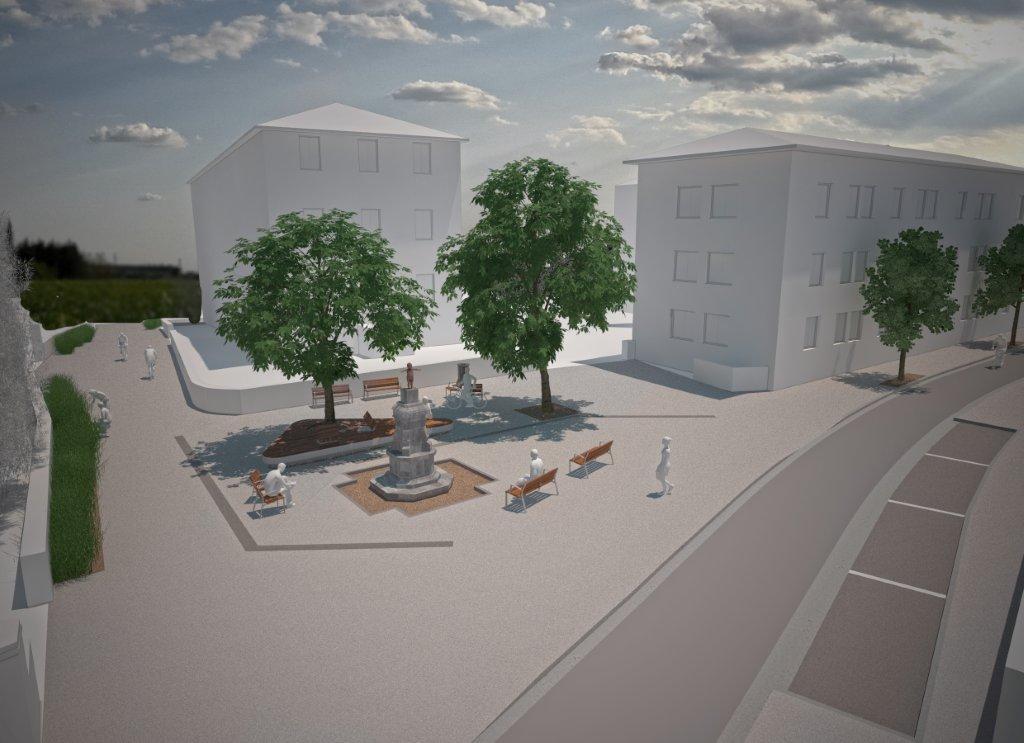 Aménagement du centre ville d'Ustaritz